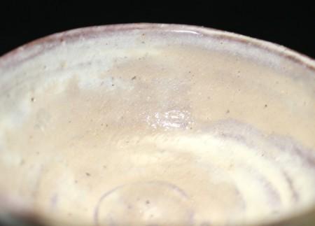 22173 陶陽の弟 金重素山(無地刷毛目盃[牛神下窯])KANESIGE Sozan