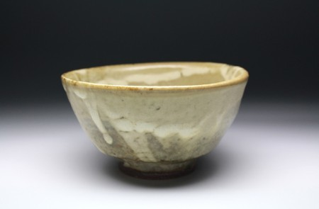 22177 浜田庄司(掛合釉茶盌)HAMADA Syoji