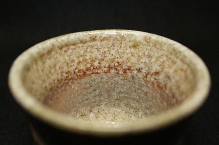22830 人間国宝 島岡達三 (塩釉ぐい呑) SHIMAOKA Tatsuzo