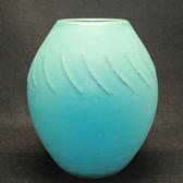 24211  文化勲章  楠部彌弌 (緑釉花瓶) KUSUBE Yaichi