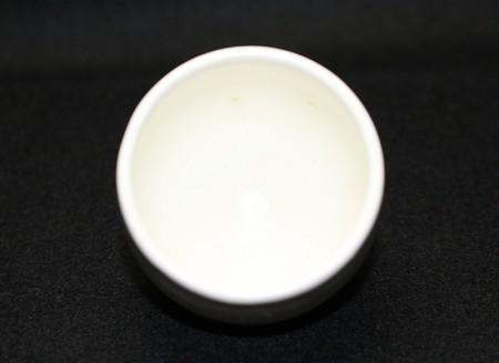 22306 人間国宝 清水卯一(白釉盃)SHIMIZU Uichi