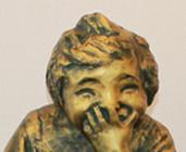 23683  北村西望 (ブロンズ像 喜ぶ少女(治禧識))KITAMURA Seibo