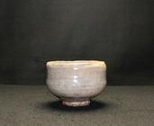 22379 人間国宝 10代三輪休雪(休和) (萩茶碗) MIWA Kyusetsu