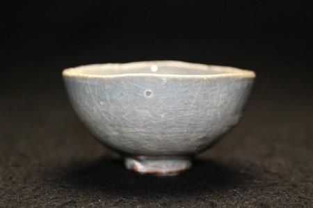 22440 人間国宝 原清 (酒盃(粉引)) HARA Kiyoshi