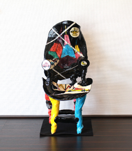 23262  鈴木五郎 (ロスオリベ陶椅子) SUZUKI Goro