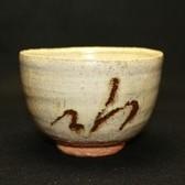 23235  西岡小十  (絵斑唐津茶碗) NISHIOKA Koju