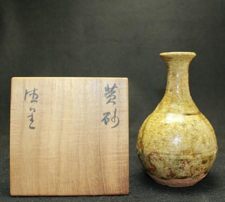 24473  北大路魯山人  (黄砂徳里) KITAOJI Rosanjin