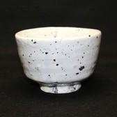 23323 小山冨士夫(古山子)  (粉引茶碗(岑一識))  KOYAMA Fujio