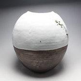 21016 清水保孝(掛分亀游文扁壷)SHIMIZU Yasutaka