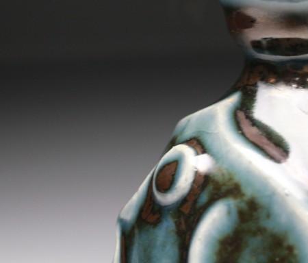 22055 曽祖父 民藝の巨匠 河井寛次郎/河井創太(呉須瓶)KAWAI Sota
