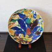 23984 初代徳田八十吉  (聖寿萬歳ノ図額皿)  TOKUDA Yasokich