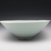 21555 鈴木 治(影青手茶碗)SUZUKI Osamu
