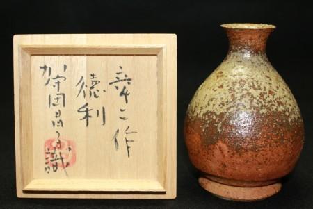 22755 加守田章二 (徳利(昌子識)) KAMODA Shoji