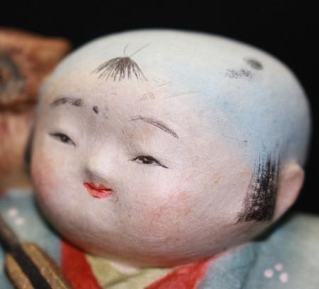 22187 人間国宝 鹿児島寿蔵 (みみづく大夫) KAGOSHIMA Juzo