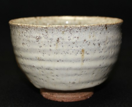 22786  西岡小十  (絵斑唐津茶碗) NISHIOKA Koju
