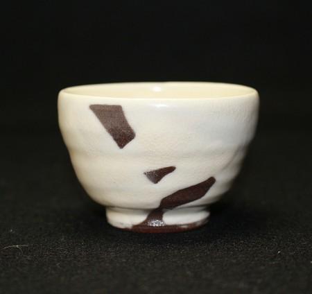 22802 中里重利 (唐津粉引盃) NAKAZATO Shigetoshi