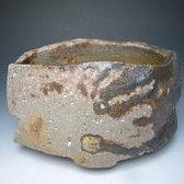 17936 隠崎隆一(備前碗[茶碗])KAKUREZAKI Ryuichi