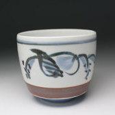 20540 富本憲吉(染付湯呑[箱なし])TOMIMOTO Kenkichi