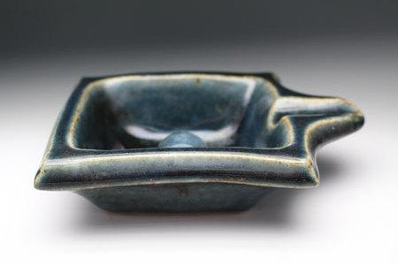 20590 河井寛次郎(呉洲灰皿)KAWAI Kanjiro
