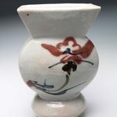 20823 河井寛次郎(花扁壷) KAWAI Kanjiro